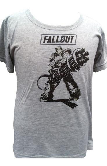 Remera Fallout Y Llavero Nuka Cola