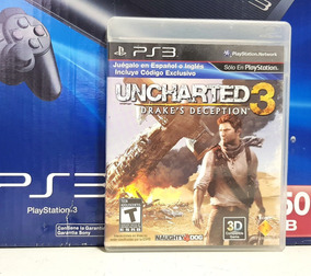 Jogo Uncharted 3 Playstation 3 Midia Fisica Ps3