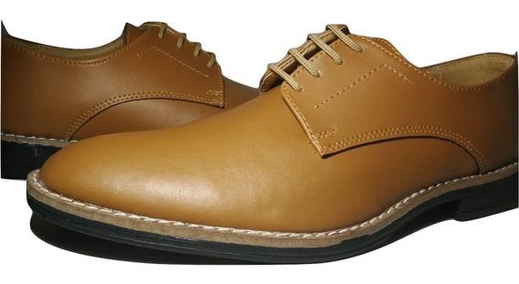 Zapato De Vestir Con Cordones * Cuero Ecologico * Sommet 231