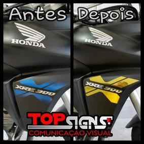 Adesivos Faixas Emblema Xre 2013 2014 E 2015