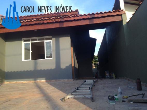 2356- Linda Casa Nova Pertinho Da Praia, Super Oportunidade