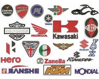 Diseño De Matrices P/ Maquinas De Bordar Marcas De Motos