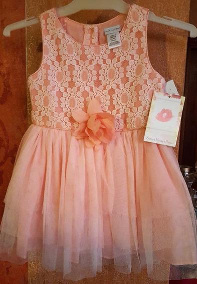 Vestido De Fiesta Para Niña Talle 6 Importado Con Etiqueta