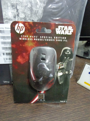 Mouse Wireless Y Funda Porta Laptop Star Wars Darth Vader