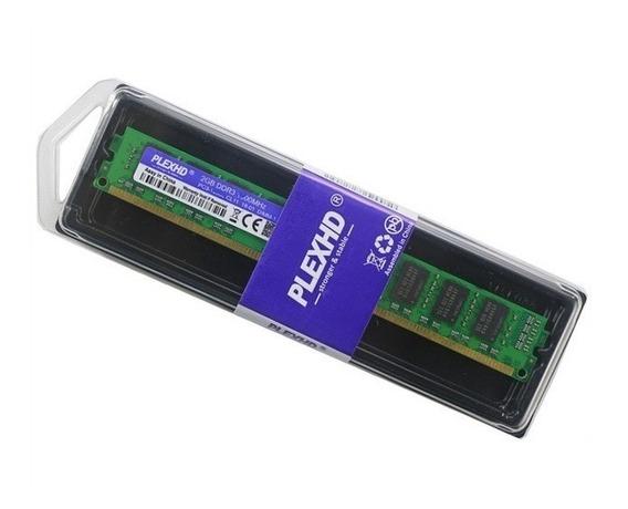 Memória Plexhd 2gb Ddr3 1333mhz Desktop Pc Intel + Garantia
