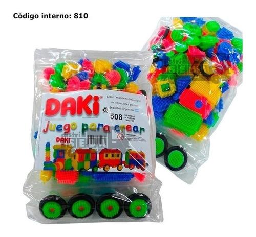 Daki 508 Ruedas Tractor Cabecitas - 112 Unid. - Didactico