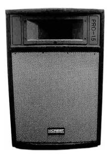 Caja Bafle P/ Sonido Crest Audio Pro 15 Pulgadas 300 Watts