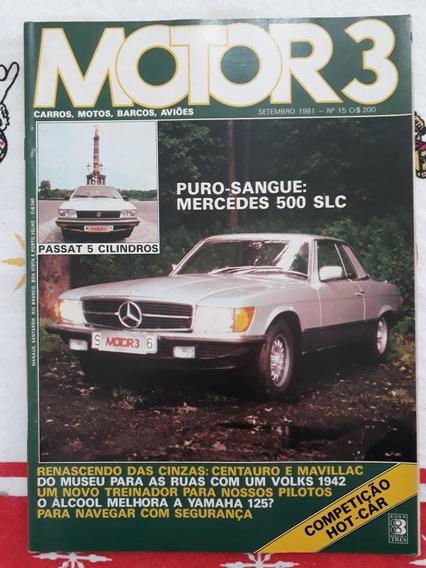 Revista Motor 3 Maverick Centauro Fusca 42 Fiat Eldorado 82