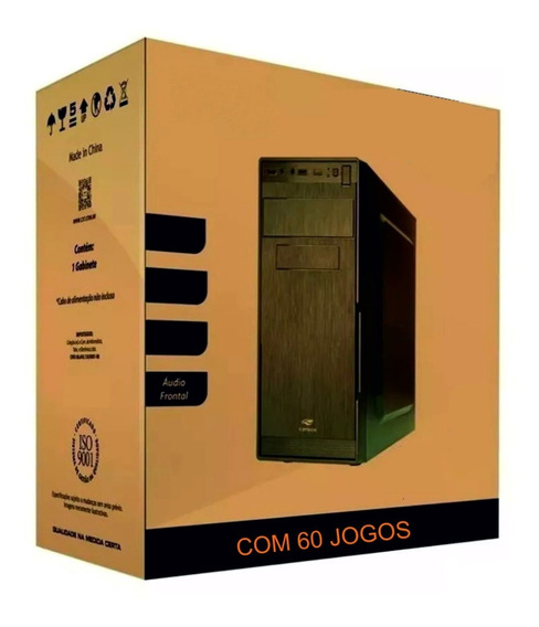 Pc Cpu Gamer Barato Com Jogos Hdmi Wifi Video Radeon