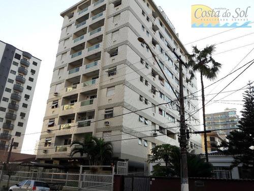 Imagem 1 de 25 de Apartamento Com 2 Dormitórios À Venda, 97 M² Por R$ 270.000,00 - Vila Guilhermina - Praia Grande/sp - Ap12488