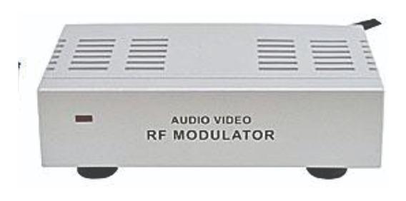 Mini Modulador Rf Áudio/vídeo Bivolt - Tozz