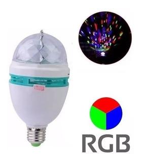 Lampara Led Giratoria 3w Rgb Foco 3 Colores Bolichera Ditron