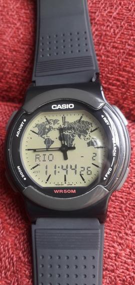 Relógio Casio Abx 53 Lindo