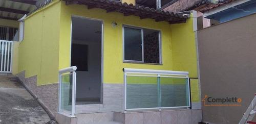 Casa Com 1 Dormitório Para Alugar, 50 M² Por R$ 750/mês - Taquara. - Ca0280