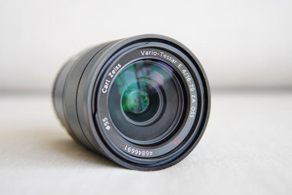 Lente Sony 16-70 F4.0 Zeiss E-mout Novissimo