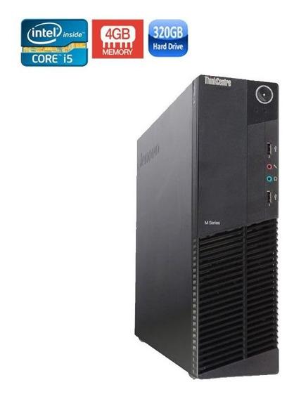 Pc Lenovo M92p Intel I5 3ºgeração 4gb Hd 320gb