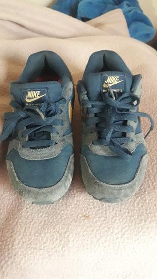 Zapatillas Nike Md Runner 2 Un Uso. Excelente Estado
