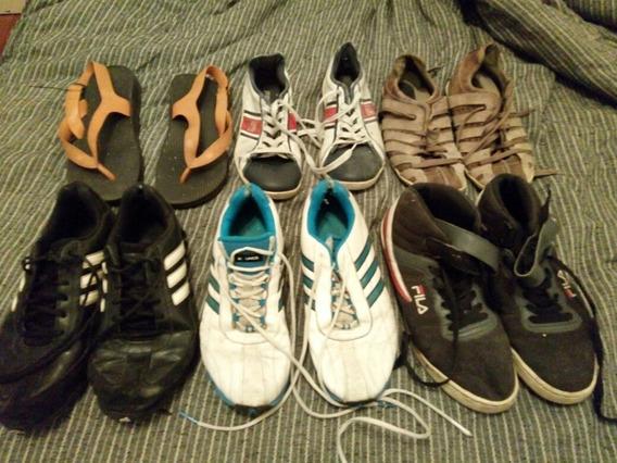 Set De Zapatillas Usadas