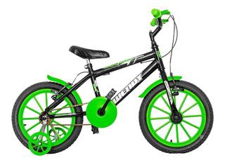 Bicicleta Infantil Aro16 Feminina Masculina + Brinde
