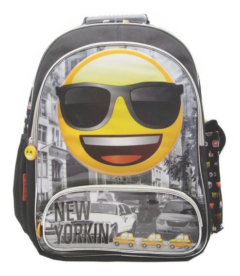 Mochila Espalda Grande 18p Emoji Emoticones #890 Mundomanias