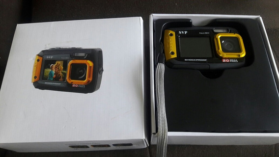 Camara Digital Svp Aqua 8800 Yellow Usa Pilas 2aaa