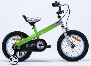 Bicicleta Niño Niña Royal Baby Buttons Rodado 16 Aluminio