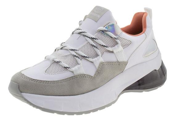 Tênis Feminino Dad Sneaker Via Marte - 1917601 Branco