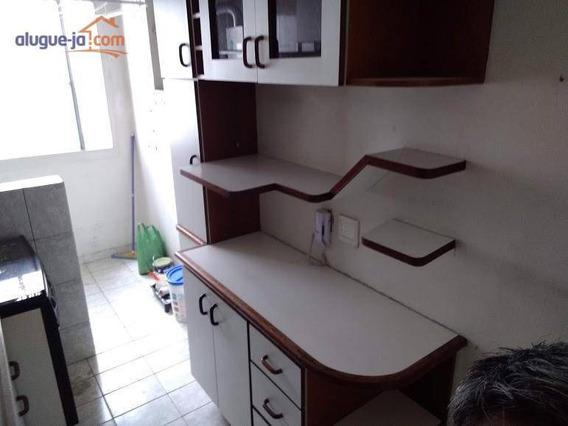Apartamento Com 3 Dormitórios Para Alugar, 68 M² Por R$ 800,00/mês - Jardim América - São José Dos Campos/sp - Ap5155