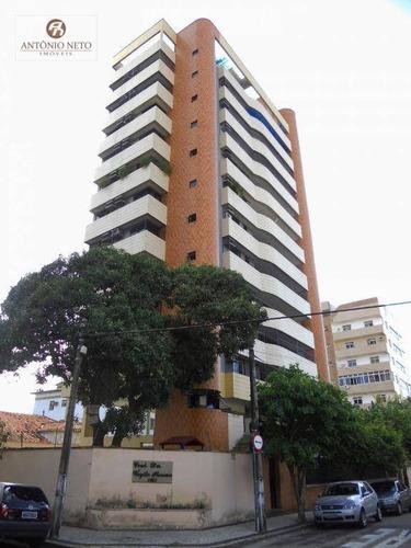 Imagem 1 de 30 de Apartamento À Venda, 170 M² Por R$ 850.000,00 - Meireles - Fortaleza/ce - Ap0360