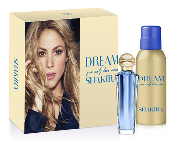 Perfume Importado Mujer Shakira Dream Edt 80ml Set