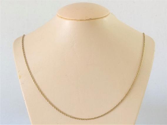 Corrente Cordão Em Ouro 18 K 750 60 Cm