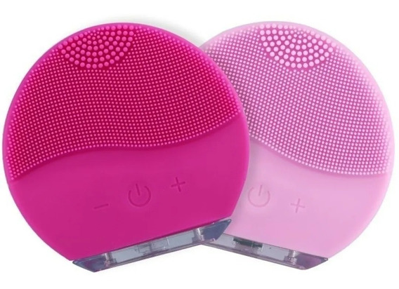A Melhor Esponja Para Limpeza Facial - Recarregável Usb Rosa