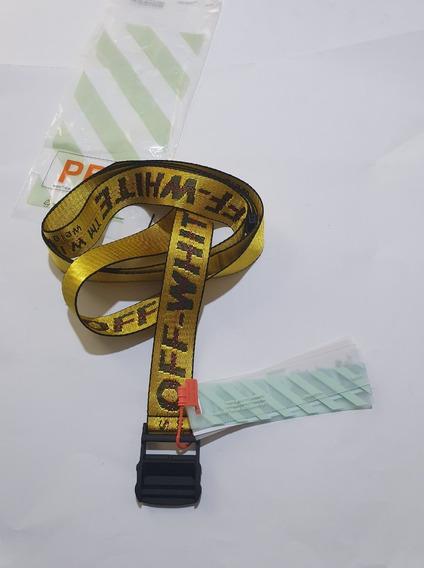 diseño atemporal dde55 405dd Cinturon Off White - Cinturones para Hombre en Mercado Libre ...