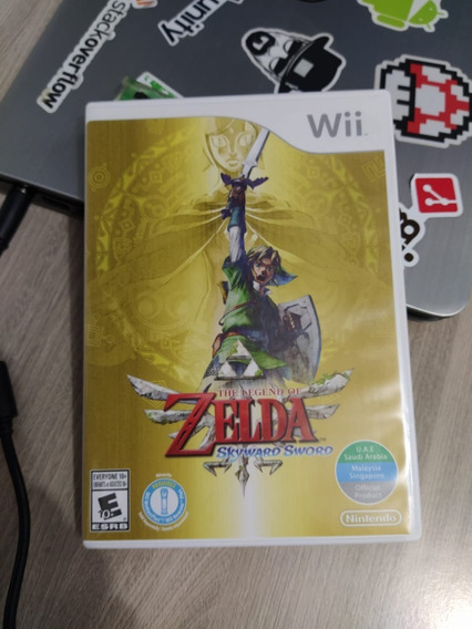 Zelda Skyward Sword E Twilight Princess Wii