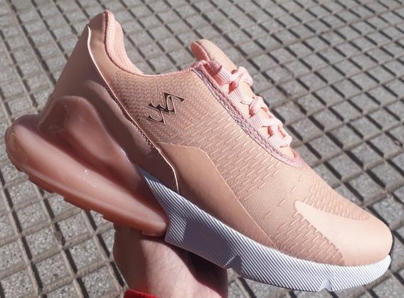 Zapatillas Deportivas Sky Blue De Mujer Rosa