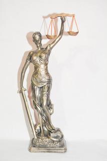 Escultura Diosa Themis Justicia