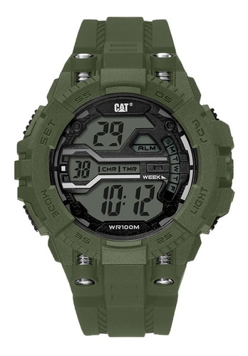 Reloj Cat Bolt Digital Oa.137.23.343 Military Green