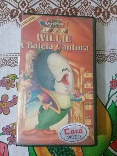 Vhs Willie A Baleia Cantora Dublado