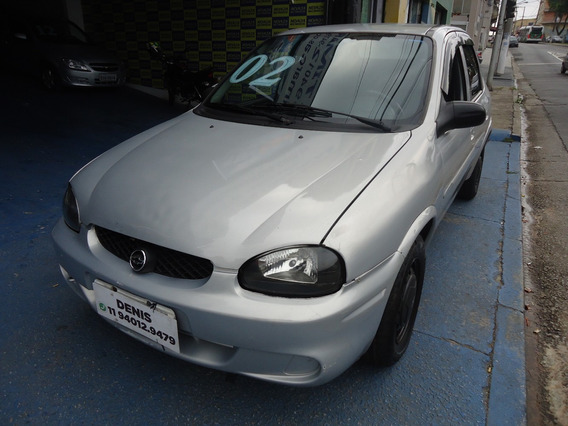 Chevrolet Corsa Milenium 2002 1.0 Gasolina Prata