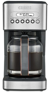Cafetera Crux Negra Programable