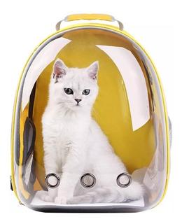 Mochila Bolso Mascotas Gato Perro Capsula 360 Transportadora