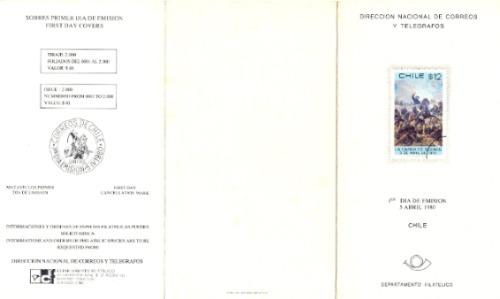 Chile 3 Boletines De Emision Oficial Del Correo