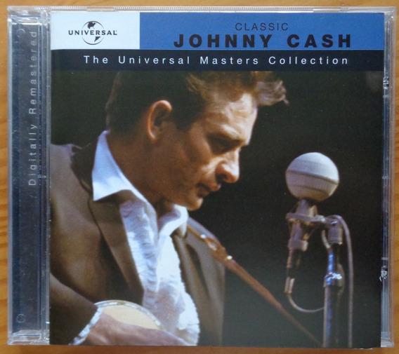 Johnny Cash Cd Nac Usado Universal Masters Collection 2003
