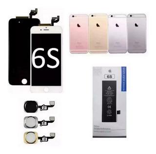 Display + Carcaça + Botão Home + Bateria iPhone 6s A1633