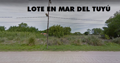 Lote En Mar Del Tuyu Cerca Del Mar - Financiación (cod.207)