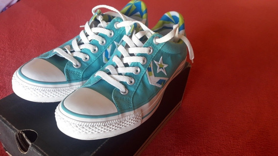 Zapatillas Converse Star Player Turquesa.