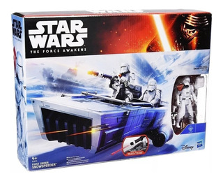 Star Wars: First Order Snowspeeder Original De Hasbro