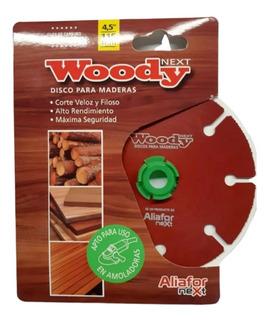 Disco Corte Madera Woody Aliafor 115 Mm Amoladora Dm-4.5