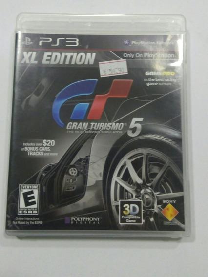 Jogo Ps3 - Gran Turismo 5