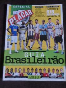 Revista Placar Guia Do Brasileirão 2013 Com Tabelas